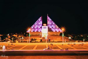 bảo tàng Ninh Thuận đẹp khi về đêm