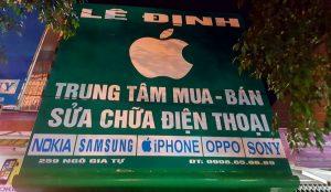 cửa hàng điện bán điện thoại Iphone Phan Rang Lê Định