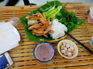 bún đậu Phan Rang Ninh Thuận